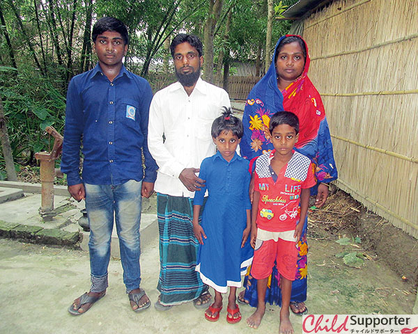 Shadin with his family.jpg